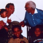 Jerry Dunfey Walter Sisulu & 3 great-grandkids
