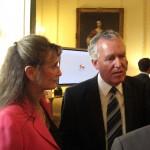 MP Peter Hain at 10 Downing St