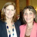 Sarah Brown & Nadine B Hack at 10 Downing St